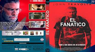 CARATULA EL FANATICO - THE FANATIC 2019[COVER BLU-RAY]