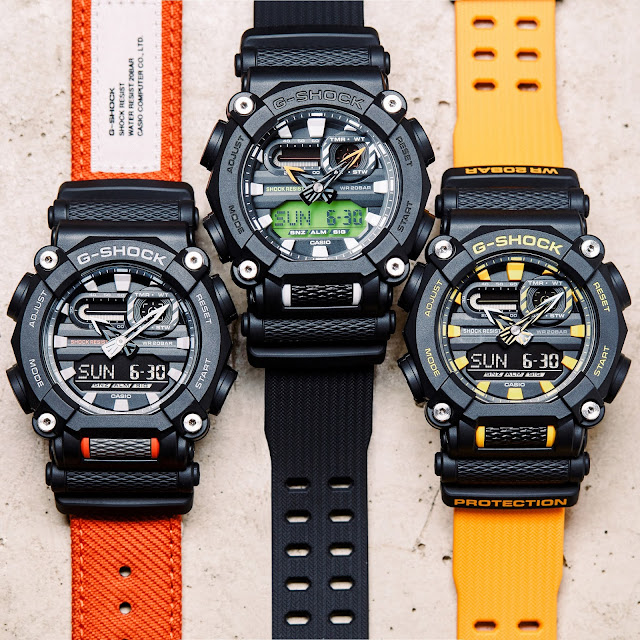 G-SHOCK Releases Heavy Duty Models Ushering In A New Tough Design