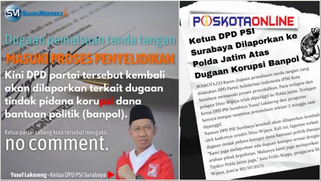 """Setelah Diduga Korupsi Dana Banpol, PSI Dinilai """"Balita yang Mulai Nakal"""""""