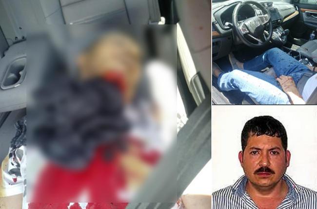 """Imagenes; Ejecutan en Zapopan a Hector Huerta Ríos """"La Burra"""", lider de los Beltrán Leyva en Monterrey"""