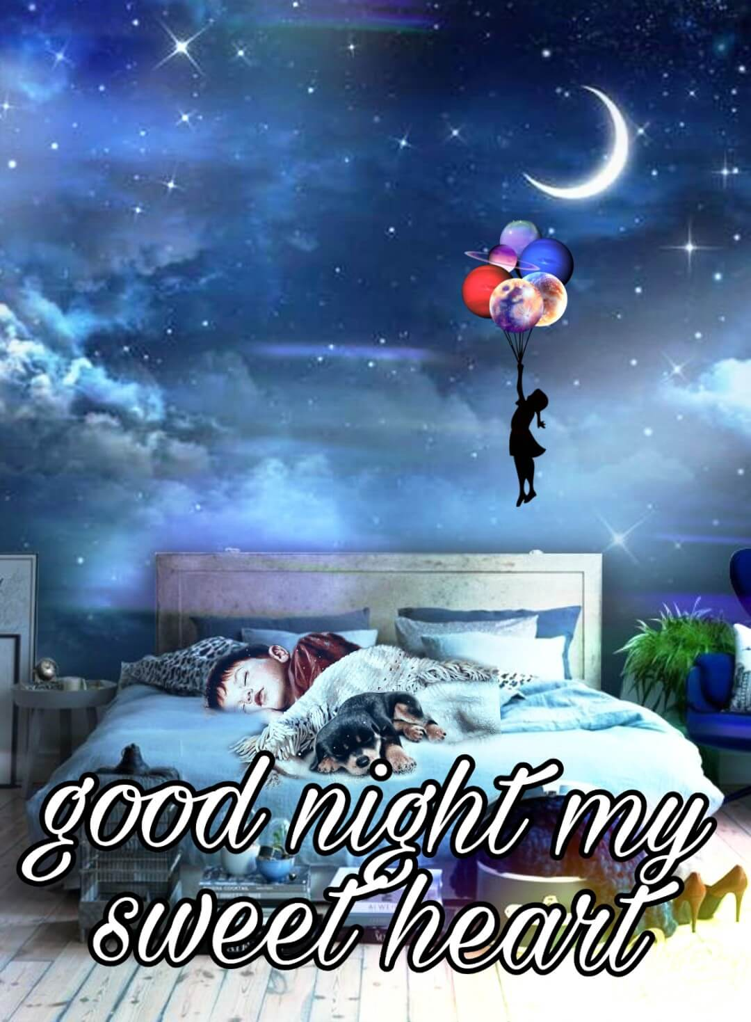 good night images to love