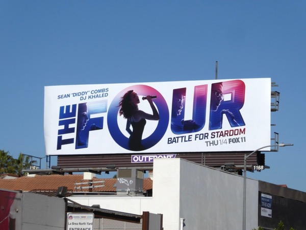 Four Battle for Stardom billboard