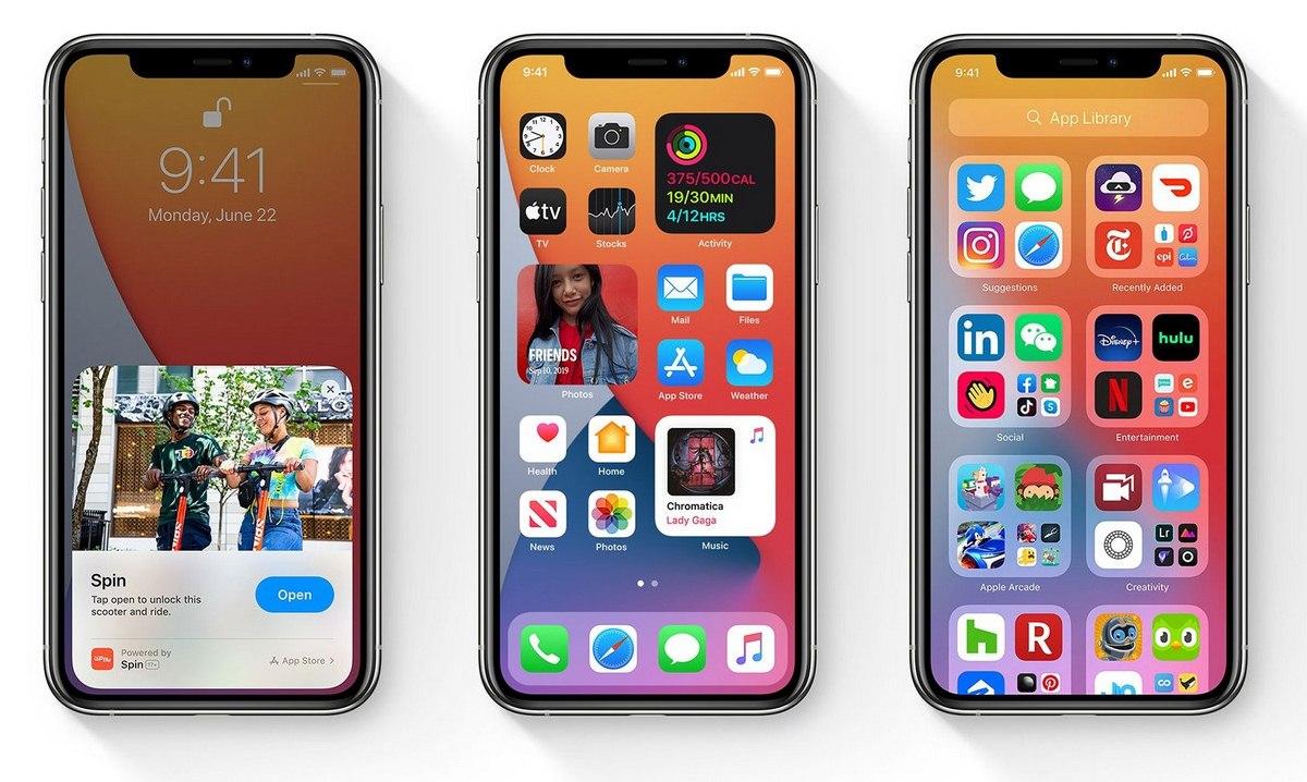 Danh sách iphone được lên iOS 14