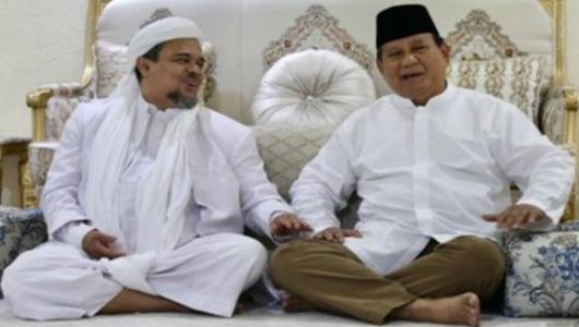 Jika Prabowo Menang, Rizieq Shihab Pulang ke Indonesia