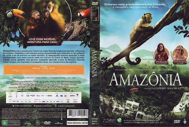 Capa DVD Amazônia