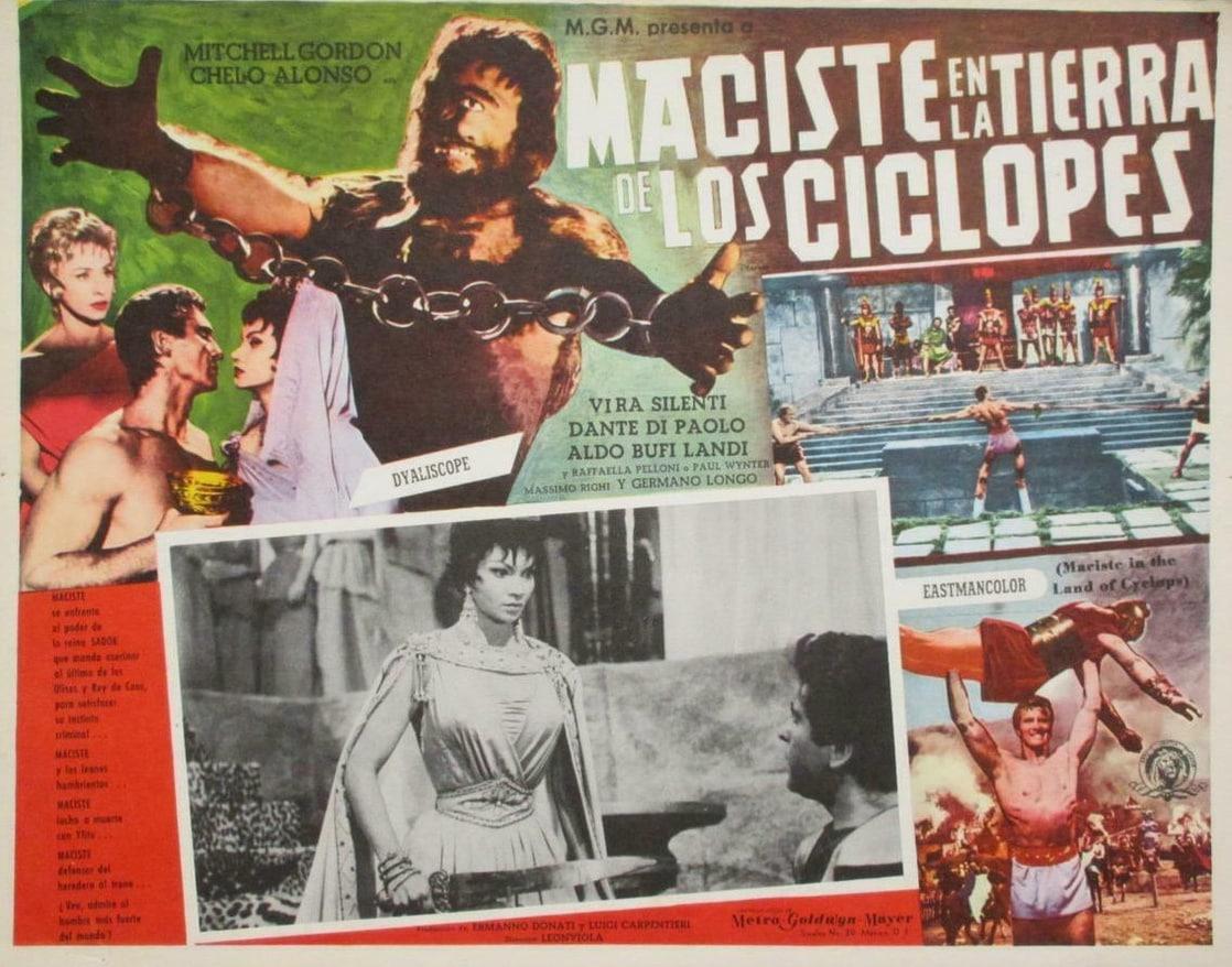 Ver película Online Maciste, el coloso - Atlas en la tierra de los cíclopes
