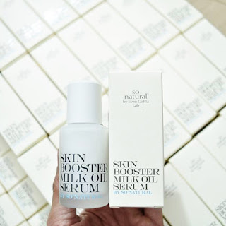 SO'NATURAL Skin Booster Milk Oil Serum giá bao nhiêu