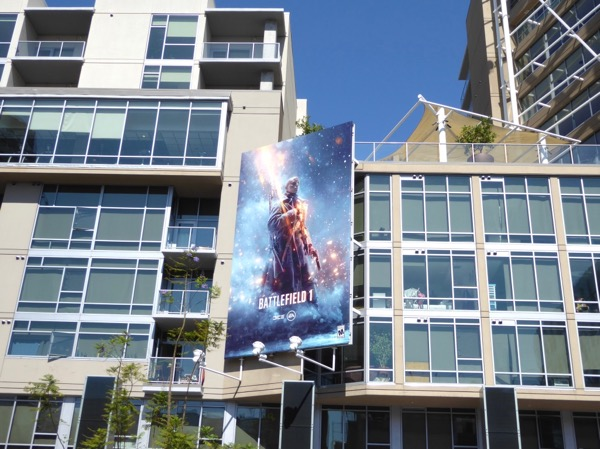 Battlefield 1 video game billboard