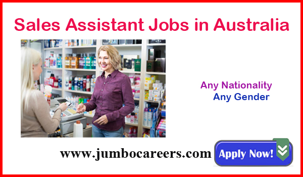 Current Australian jobs, Recent sales assistant jobs,
