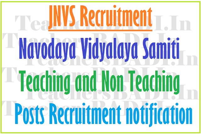 NVS Principals, PGTs, TGTs, ACs Recruitment 2016