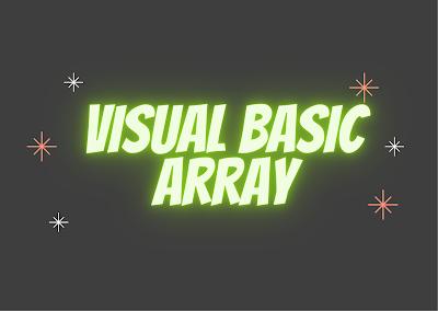 Array in visual basic hindi | visual basic array in hindi