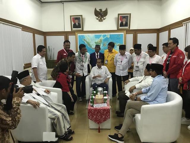 Kepercayaan Partai,  Olly Dampingi Capres Jokowi - maaruf Cabut Nomor Urut