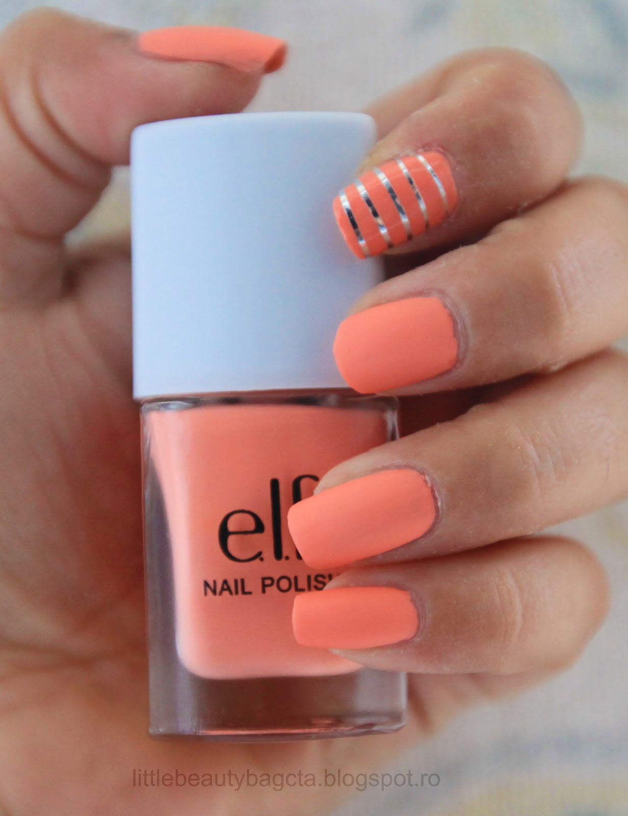 Baby Coral Nails Little Beauty Bag