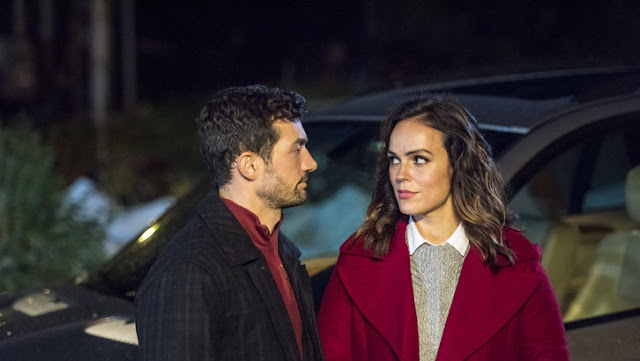 'Sleigh Bells Ring' (2016): Small Town Romance with Magical Matchmaking. Erin Cahill stars as a single mother who reunites with an ex. Text © Rissi JC
