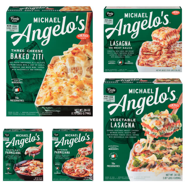 Michael Angelo's Frozen Italian Meals