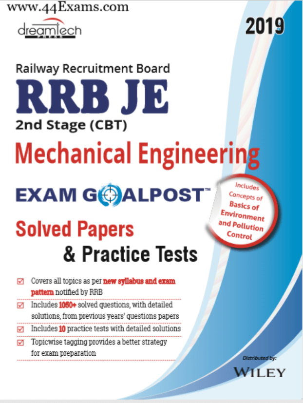 RRB-JE-Mechanical-Engineering-CBT-II-For-Railway-Exam-PDF-Book