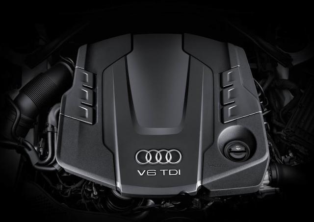 2017 Audi A4 Allroad Quattro Engine