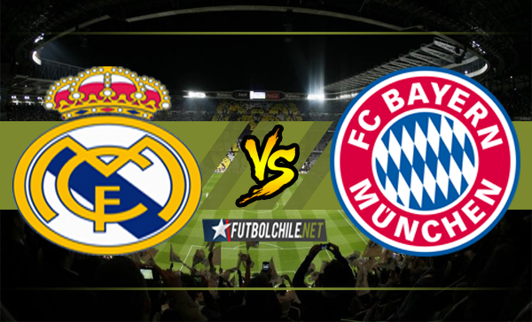 Ver stream hd youtube facebook movil android ios iphone table ipad windows mac linux resultado en vivo, online:  Real Madrid vs Bayern Munich