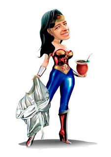 caricatura supergirl