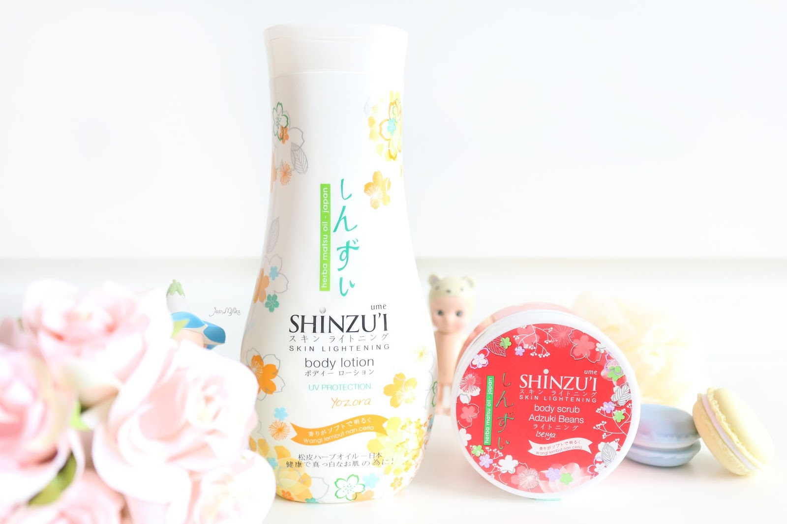 shinzui, shinzui ume, body care, body lotion shinzui, review shinzui, shinzui ume yozora, shinzui ume iseiya, body scrub, drugstore