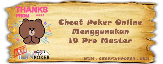 Cheat Poker Online Menggunakn ID Pro Master