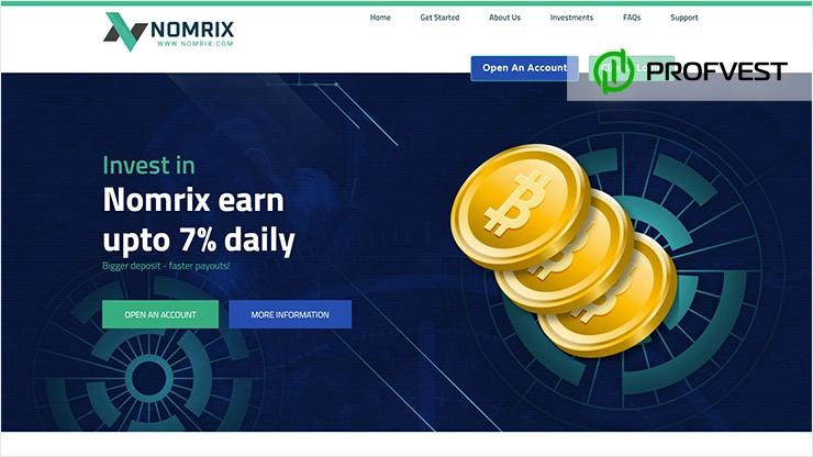 Nomrix обзор и отзывы HYIP-проекта