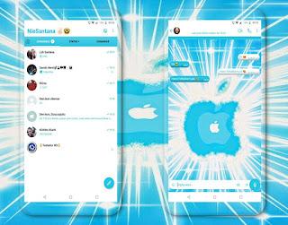 Apple Blue Theme For YOWhatsApp & Fouad WhatsApp By NieSantana