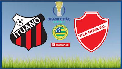 ITUANO X VILA NOVA | AO VIVO | BRASILEIRO SÉRIE C | NARRAÇÃO