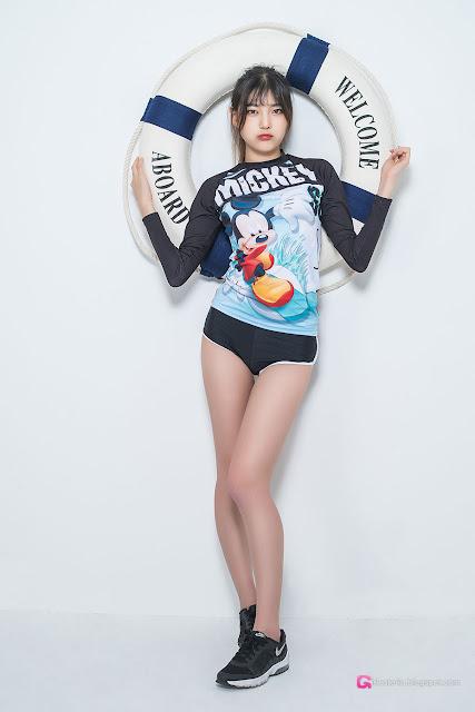 4 Kang Cho Won - Studio Collection - very cute asian girl-girlcute4u.blogspot.com