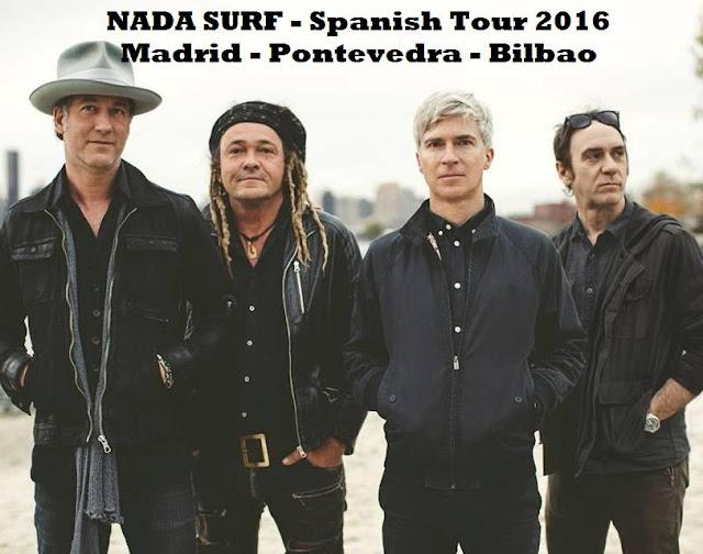 Nada Surf - Gira España abril 2016
