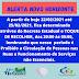 ALERTA NOVO HORIZONTE, ( TOQUE DE RECOLHER, DAS 20:00 ÀS 05:00)