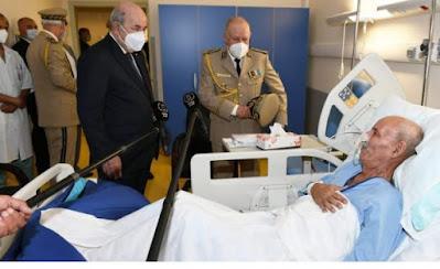 هذه كلفة مصاريف استشفاء زعيم عصابات البوليساريو بإسبانيا تحملتها الجزائر واسبانيا