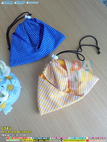 Pouch Origami Square