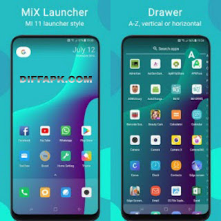 MiX Launcher Apk V2 for Mi Launcher v2.1 (SAP) (Premium)