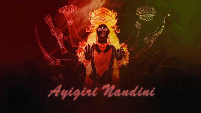 Durga Stotram Aigiri Nandini Lyrics