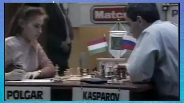 Kasparov Vs Judit Polgar Touch move Controversy