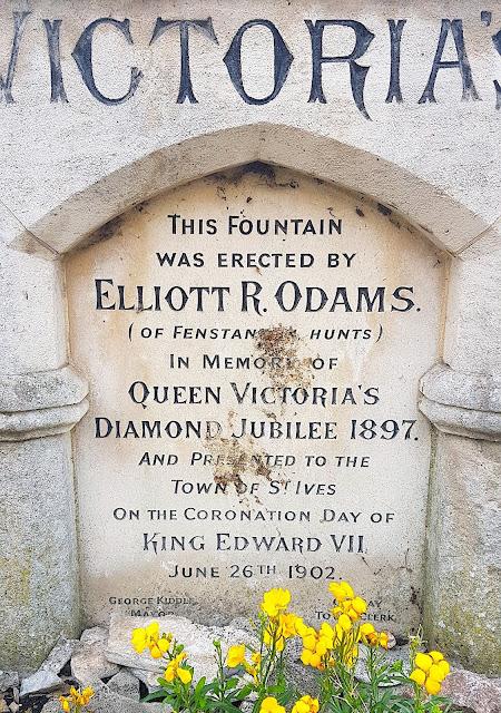 Inscription on Victoria Jubilee Memorial, St Ives, Cambridgeshire