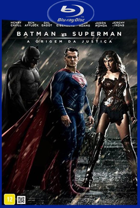 Batman Vs Superman – A Origem da Justiça (2016) Blu-Ray 720p/1080p Dual Áudio