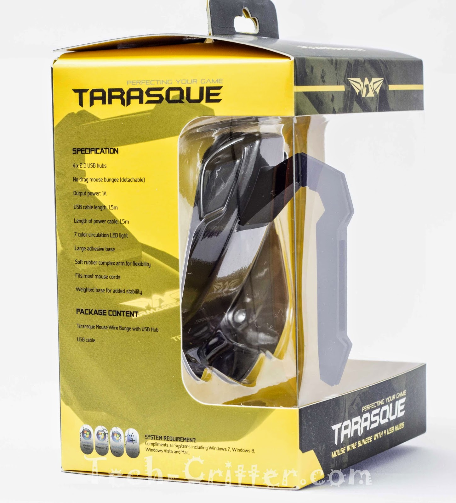 Unboxing & Review: Armaggeddon Tarasque Mouse Bungee 36