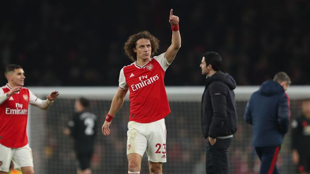 Mikel Arteta knows football - David Luiz, AArsenal vs Manchester United, David Luiz praises Mikel Arteta