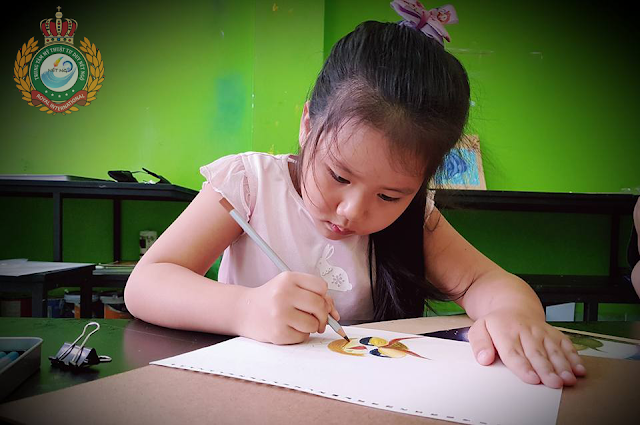Lớp dạy học vẽ cho thiếu nhi tại quận Tân Phú, quận 9, 12 TP Hồ Chí Minh