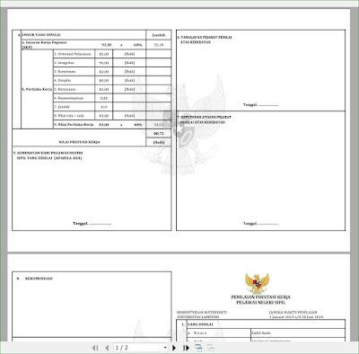 Aplikasi Excel SKP - KKI versi 3