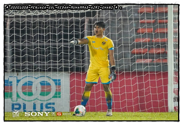 Gambar penjaga gol muda Kedah FA 2020, Muhammad Azri Ghani