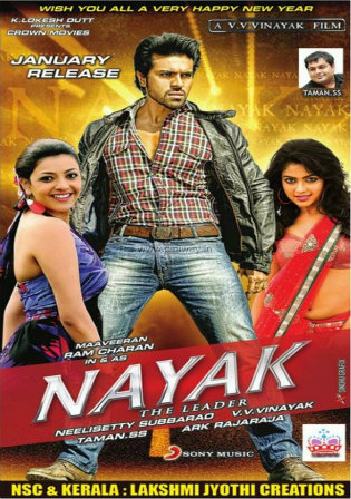 Double Attack Naayak 2013 BRRip 1.2Gb Hindi Dubbed