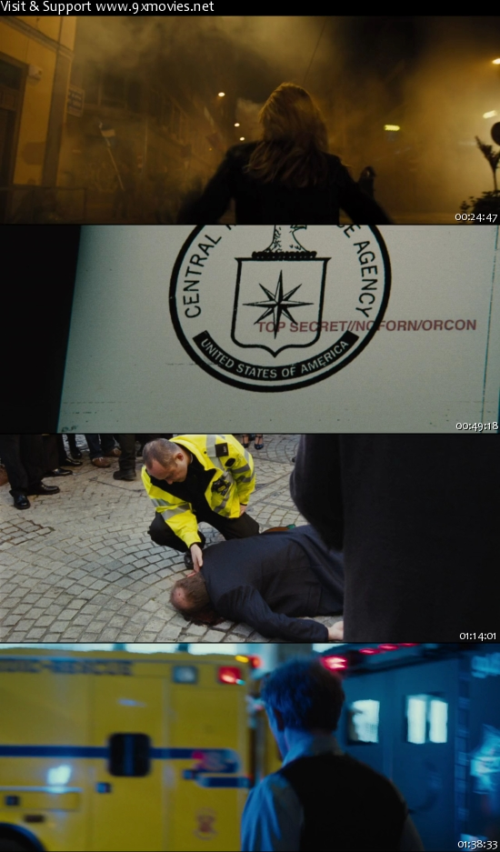 Jason Bourne 2016 English 720p BRRip