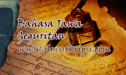 Bahasa Jawa Geguritan : Kelangan Plataran
