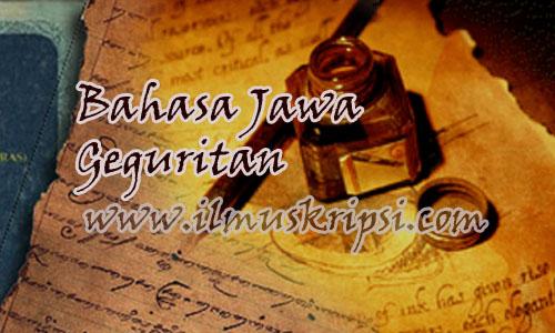 Bahasa Jawa Geguritan : Tugu Ing Prapatan