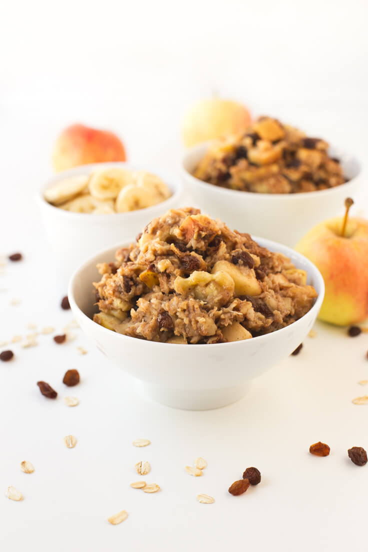 Baked porridge | danceofstoves.com #vegan