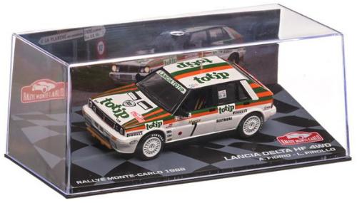 collezione rally monte carlo Lancia Delta HF 4WD 1988 Alessandro Fiorio - Luigi Pirollo