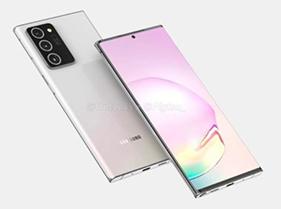 Quelques spécifications de la série Samsung Galaxy Note 20